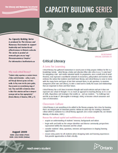 Capacity Building Series:  Critical Literacy