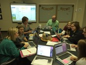 RES Staff Learning OSX Yosemite Skills with Brian Buffington