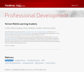 Thinkfinity Mobile Learning Academy