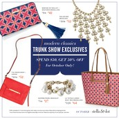 Trunk Show Deals for October
