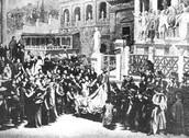 Julius Caesar Funeral