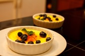 Creme Brulees for Dessert
