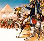 1798 - Napoleon invades Eqypt