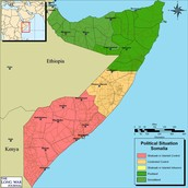 Here are some of the divisions of Somalia