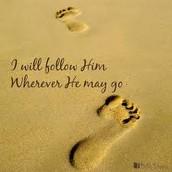 Devotion:  I Will Follow