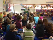 Mrs. Munsey and Mrs. Anderson's Kindergarten Classes