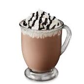 Whip cream w/ chocolate syrup