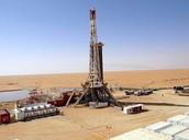 Arabian oil drill