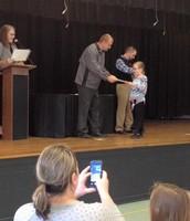 Proud First Grade Scholar