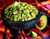 El guacamole: