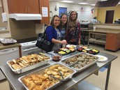 High School  breakfast celebration of Distinguished designations