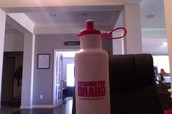 Water (Water in a National Guard water bottle)