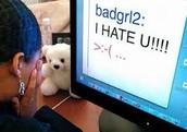 Cyberbulling message