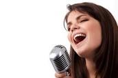 Ex: Singing