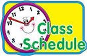 Mi horario