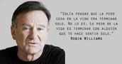 Frase típica de Robin Williams