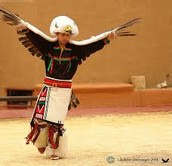 A Tiguan child, practicing the ancient cultural dances.