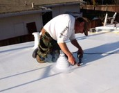 How Are Thermoplastic Roofs Installed?
