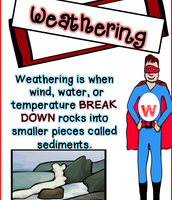 Weathering is like a superhero