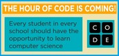 "Encourage your students to code! Why? Increases problem-solving, critical thinking and logic!        ""Don't just play on your phone, program it."""