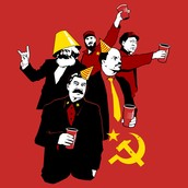 Look how much fun communists have
