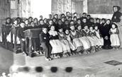 Why were aboriginal children put into Residential Schools?