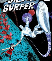 Dan Slott draws Silver Surfer for Marvel!