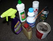 Substances that can lead to indoor pollution.