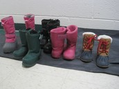 Boots, Mittens, Hats, Golves and Indoor shoes!