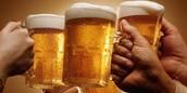 Snap: Cheersing a pint at the Pint