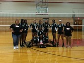 Junior Varsity Volleyball Lady Raiders!