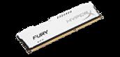FURY Memory White - 8GB Module - DDR3 1866MHz CL10 DIMM
