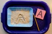 Sand tracing