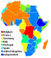 African Colonization Map