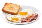 Nikki Bella bacon and egg $7.45