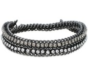 Hematite Cupchain Bracelet $15