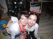 Я з мамою на Новий Рік