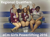 AMCHS Girls Powerlifting Results