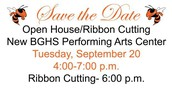 The Open House and Ribbon Cutting is Tomorrow!