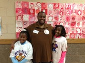 Mr. Robinson and daughters