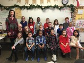 Mrs. George's class all dressed up!