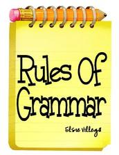 Grammar - Mrs. Caddick