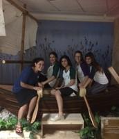 תלמידות אולפנית אורט טבריה בתערוכת מצריים