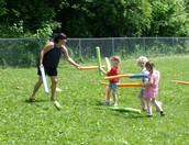 Beautiful Day for Preschool Field Day!