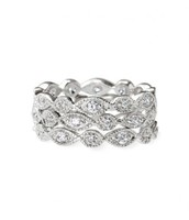 Stackable Deco Rings - CZ