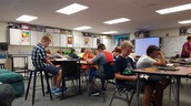6th graders reading