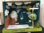 Brandon's Water Cycle in a Box