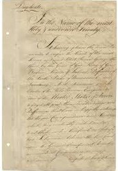 John Jay signed the Treaty of Paris.