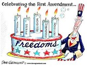 All the Freedoms in the First Amendment