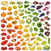 fibers food, vegetables, fruit.